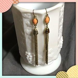 Stellar Vintage Gold Dangle Earrings